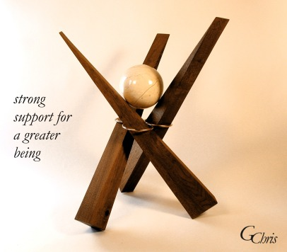 Calls upon each of us to join our strength to support a greater level of being for all people.