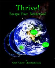 Thrive! - Escape from Extinction - cover art - front - Final