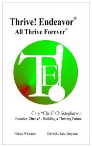 Thrive - Thrive! Endeavor - Kindle cover art lrg 052215