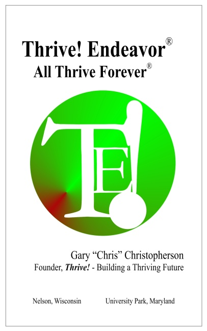 Thrive~ Endeavor Book
