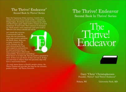 The Thrive Endeavor - cover 4 031816