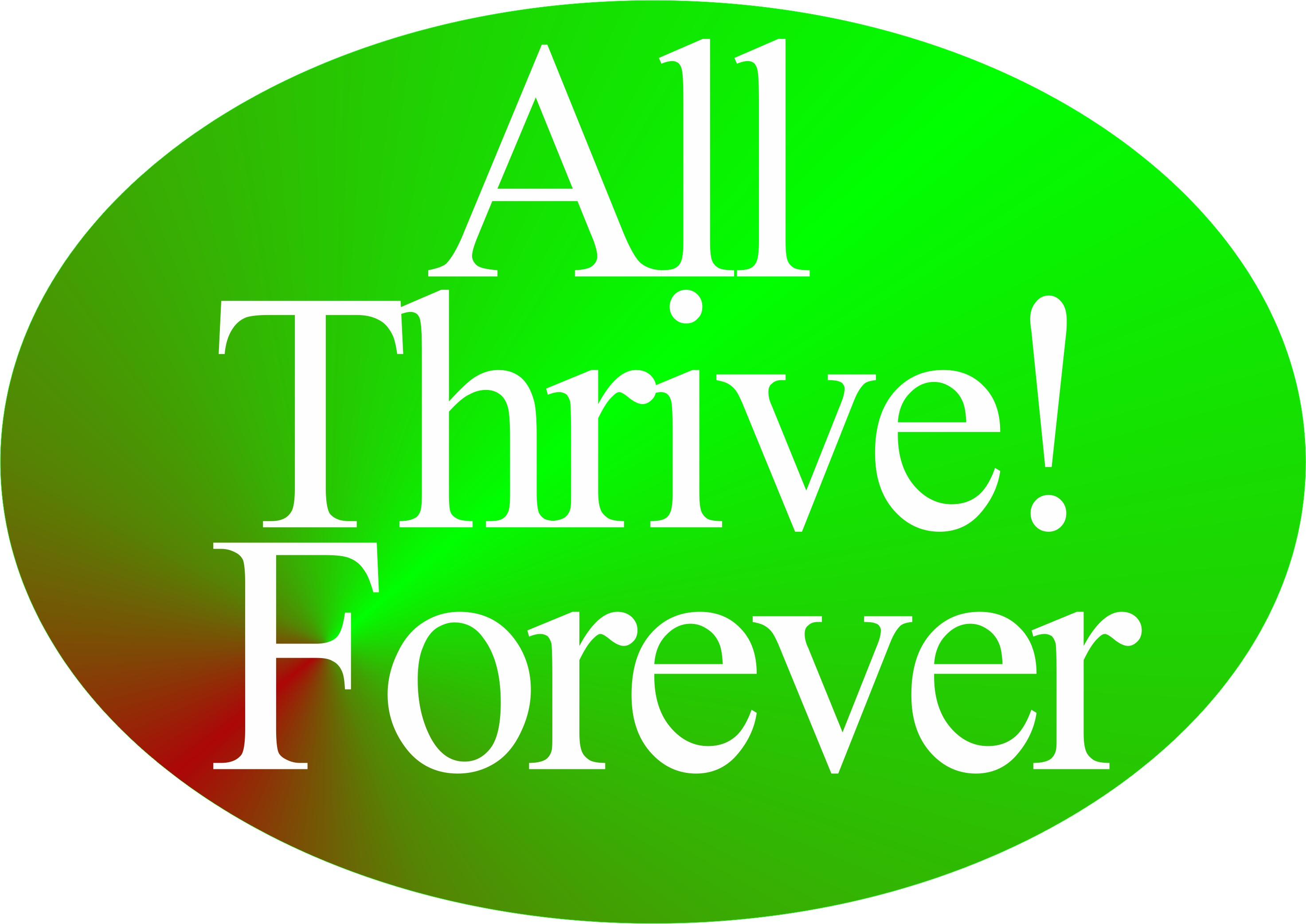 All Thrive Forever 052615