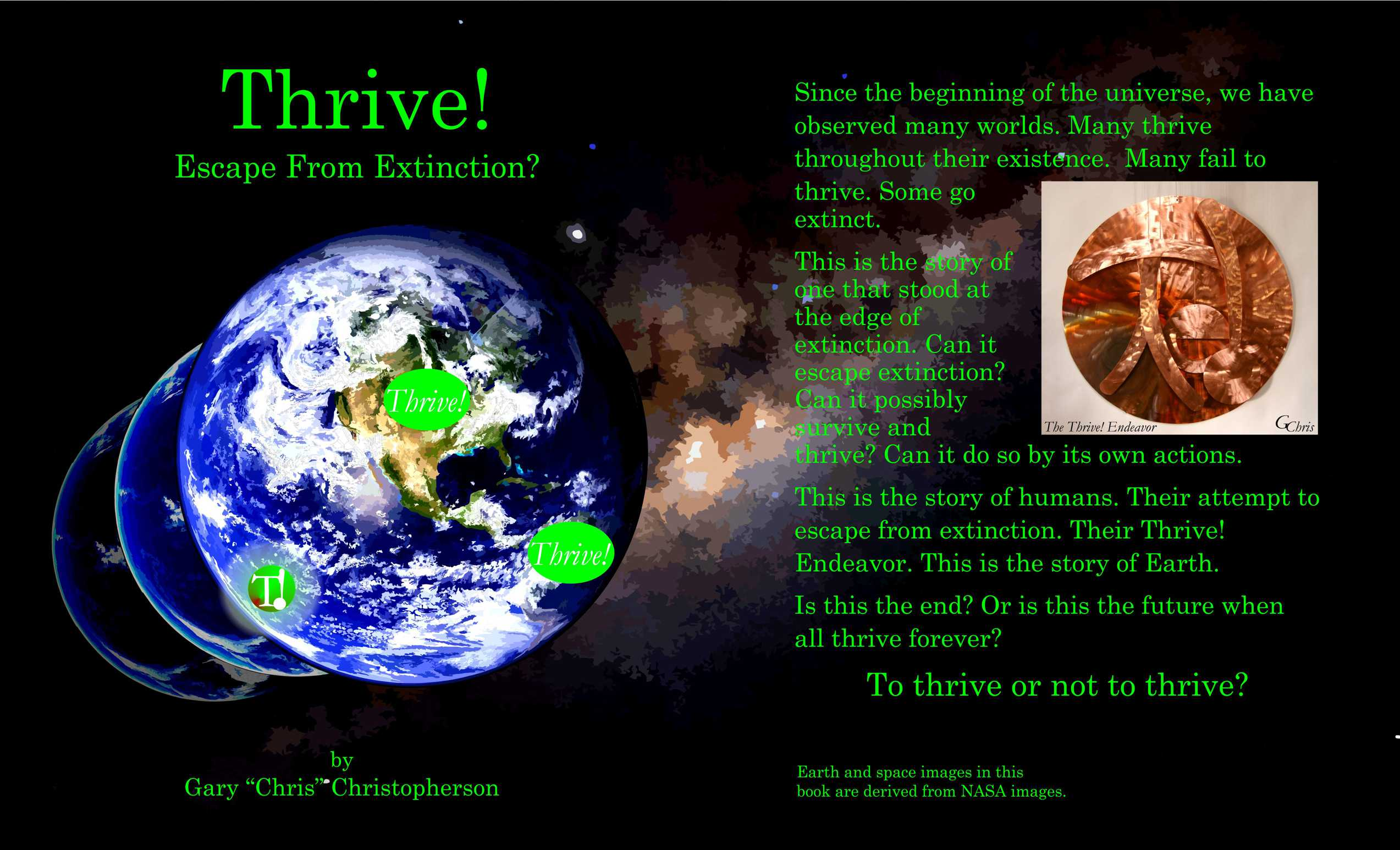 Thrive! - Escape from Extinction - cover art - reverse - web